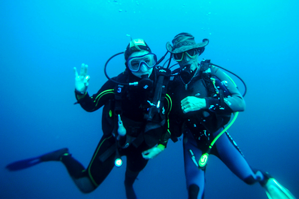 Baptême de plongée en Méditerranée