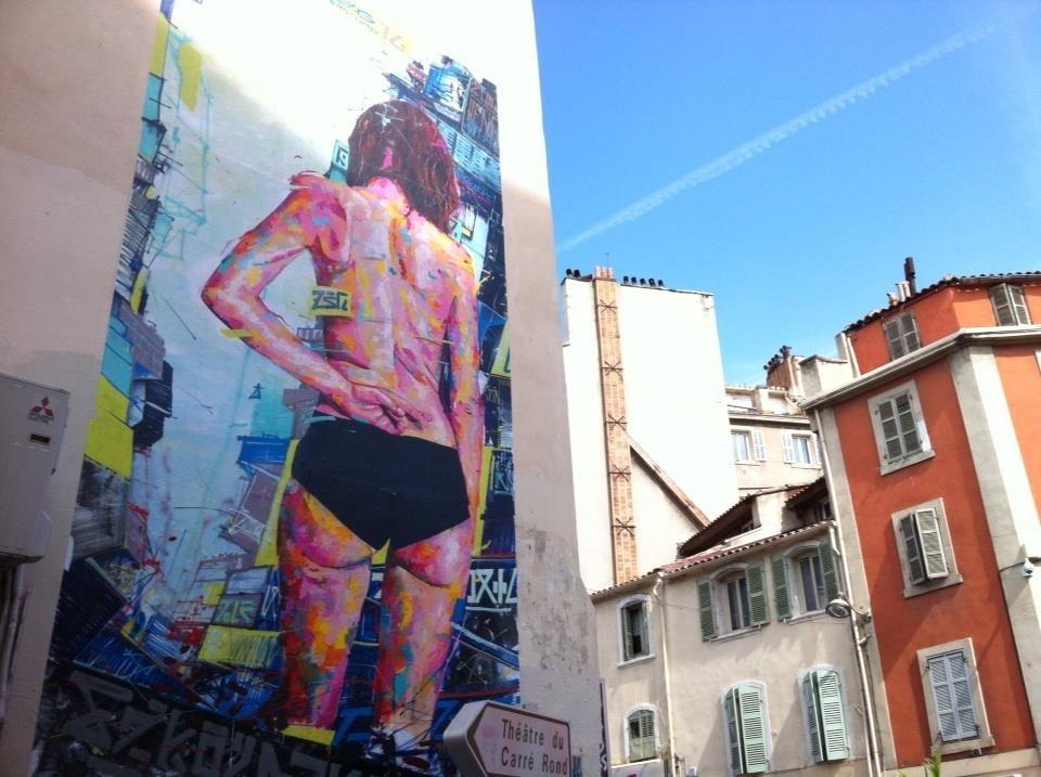 Découverte de Marseille en version Street-Art : le Cours Julien