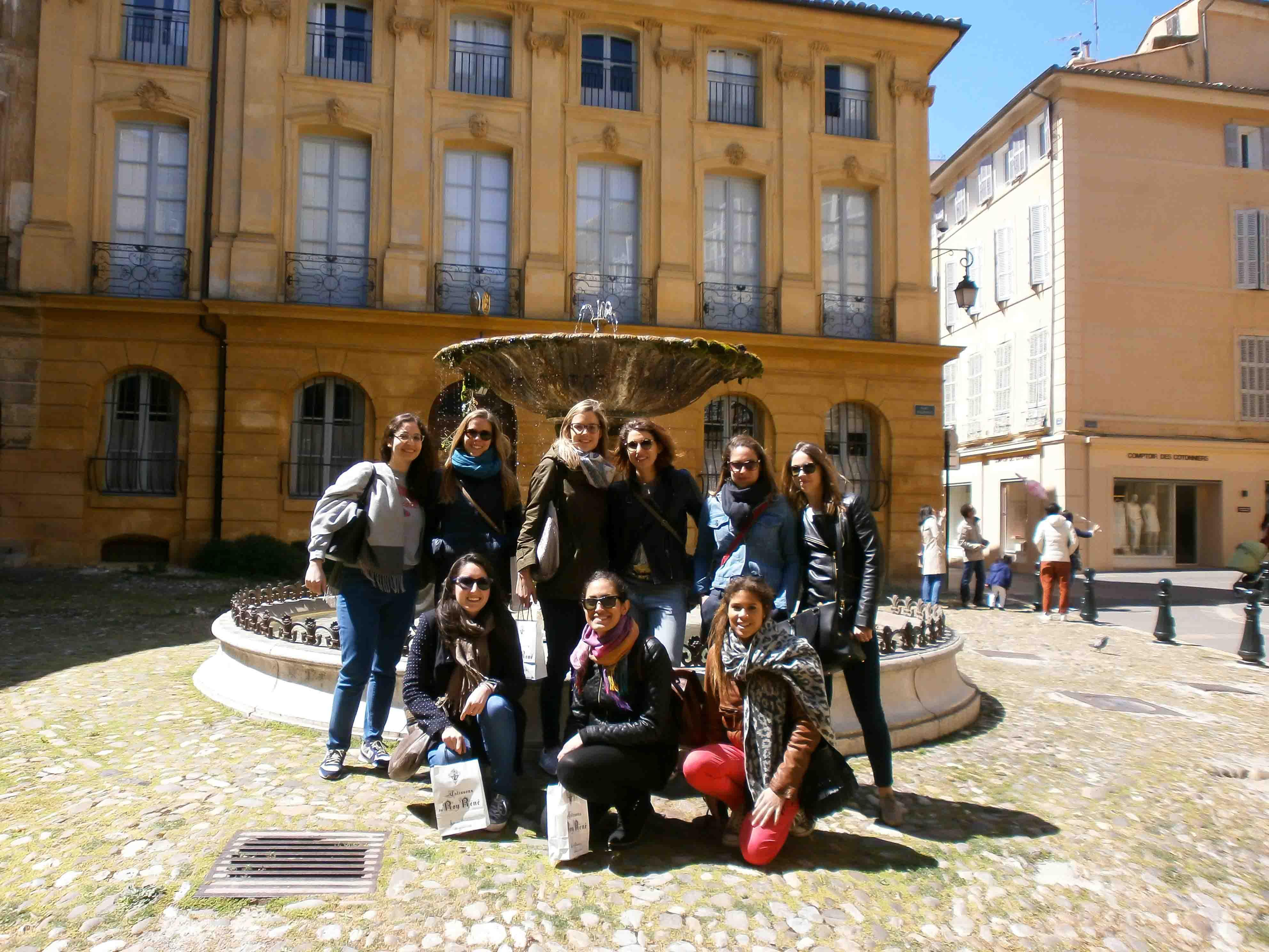 Visite d'Aix-en-Provence lors d'un jeu de piste
