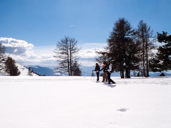 Découverte de Céüze lors d'une journée en raquettes à neige