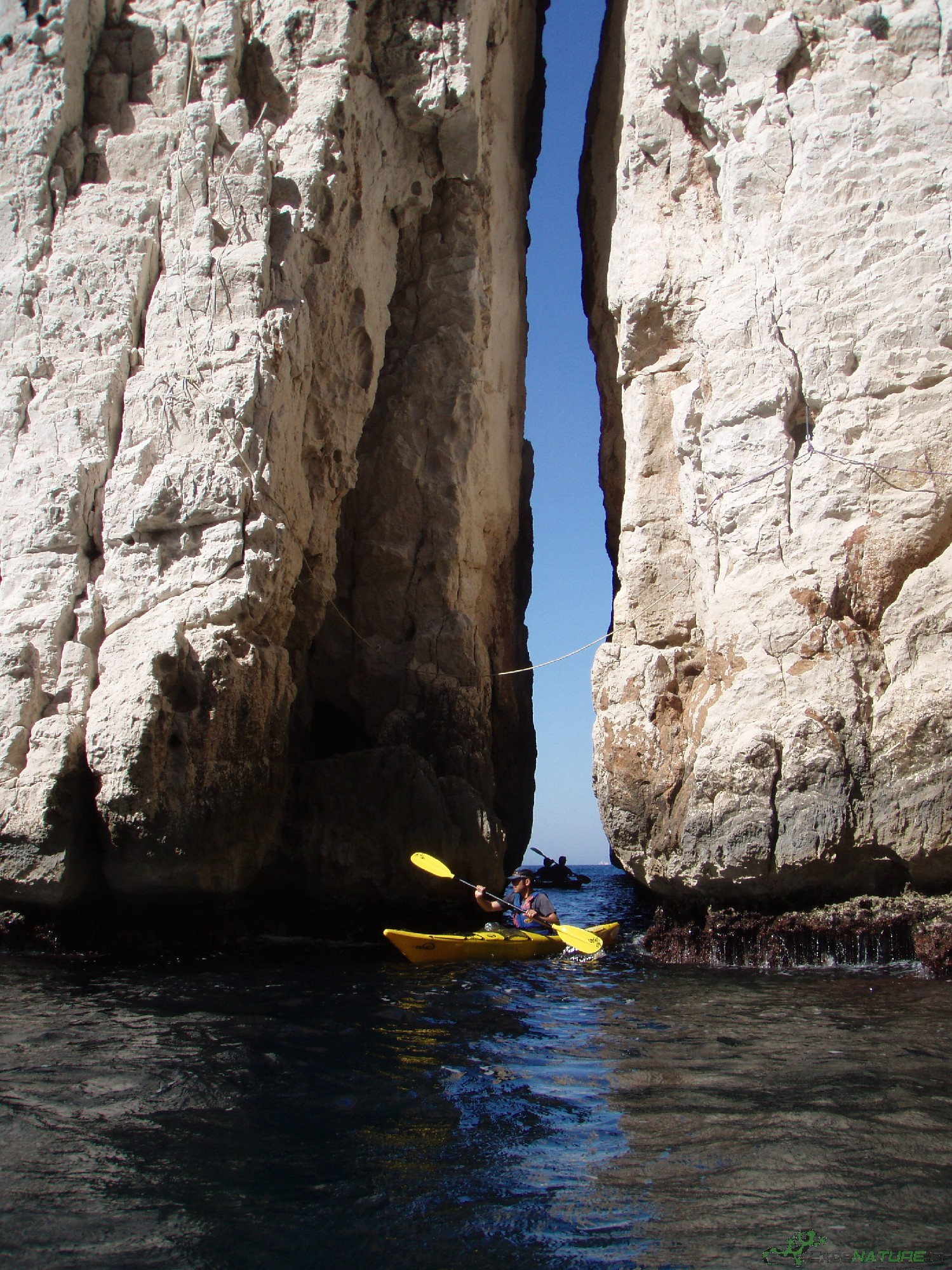 Journée Kayak de Mer Parc National des Calanques de Cassis