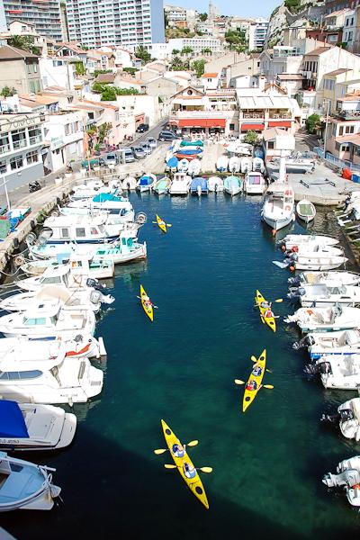 Journée Kayak de Mer Marseille insolite