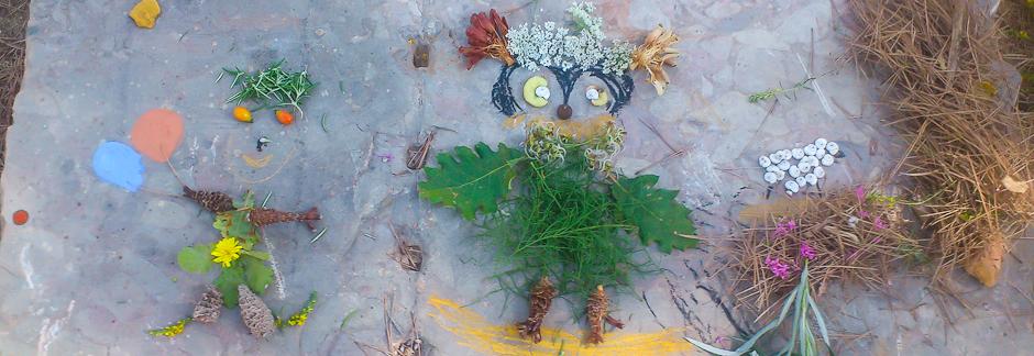 Atelier de land art et art rupestre dans le Massif de la Sainte-Victoire