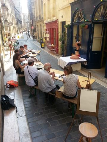 Grands Ateliers sur Rue au Cœur du Vieux Bordeaux, Sculpture et Dessin