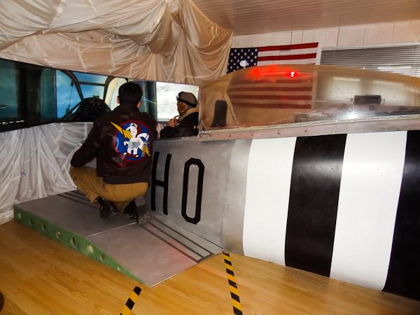 Initiation au pilotage dans un simulateur de vol
