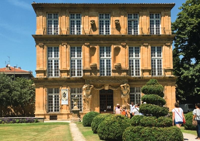 Visite privée : Fontaines et jardins d'Aix-en-Provence