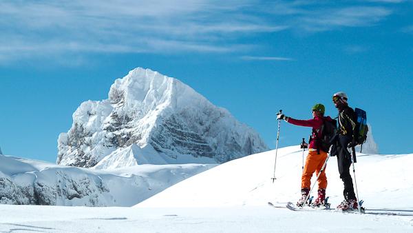 Ski de randonnée dans le massif du Dévoluy