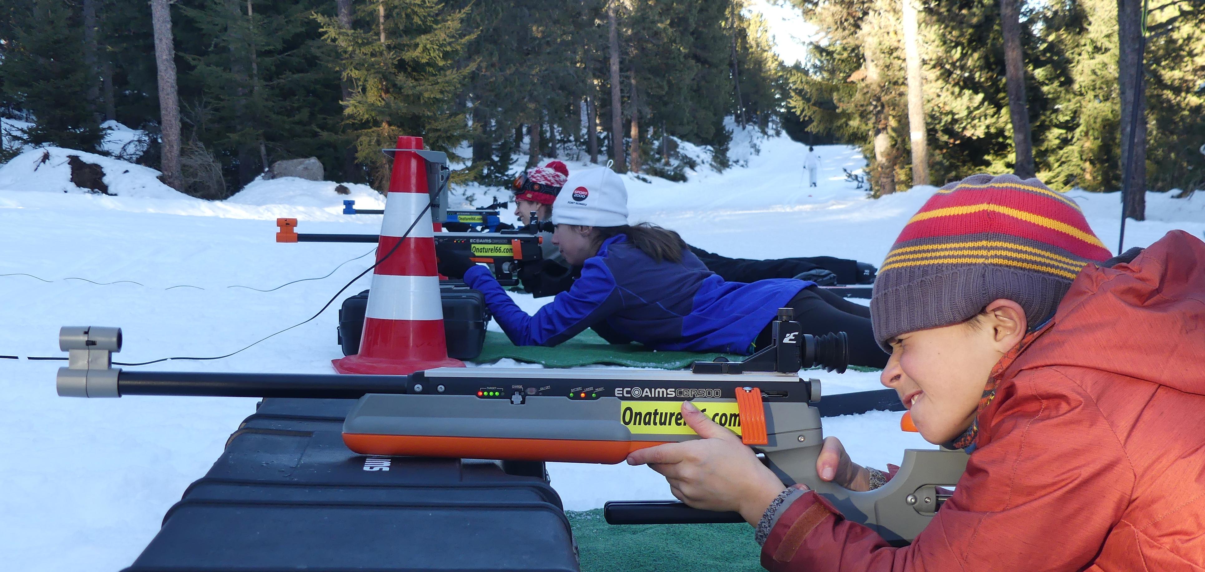 Initiation au Biathlon dans les Pyrénées Catalanes !