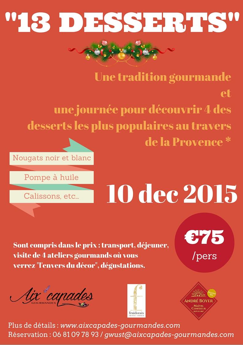 Journée découverte : 3 desserts emblématiques du Noël en Provence