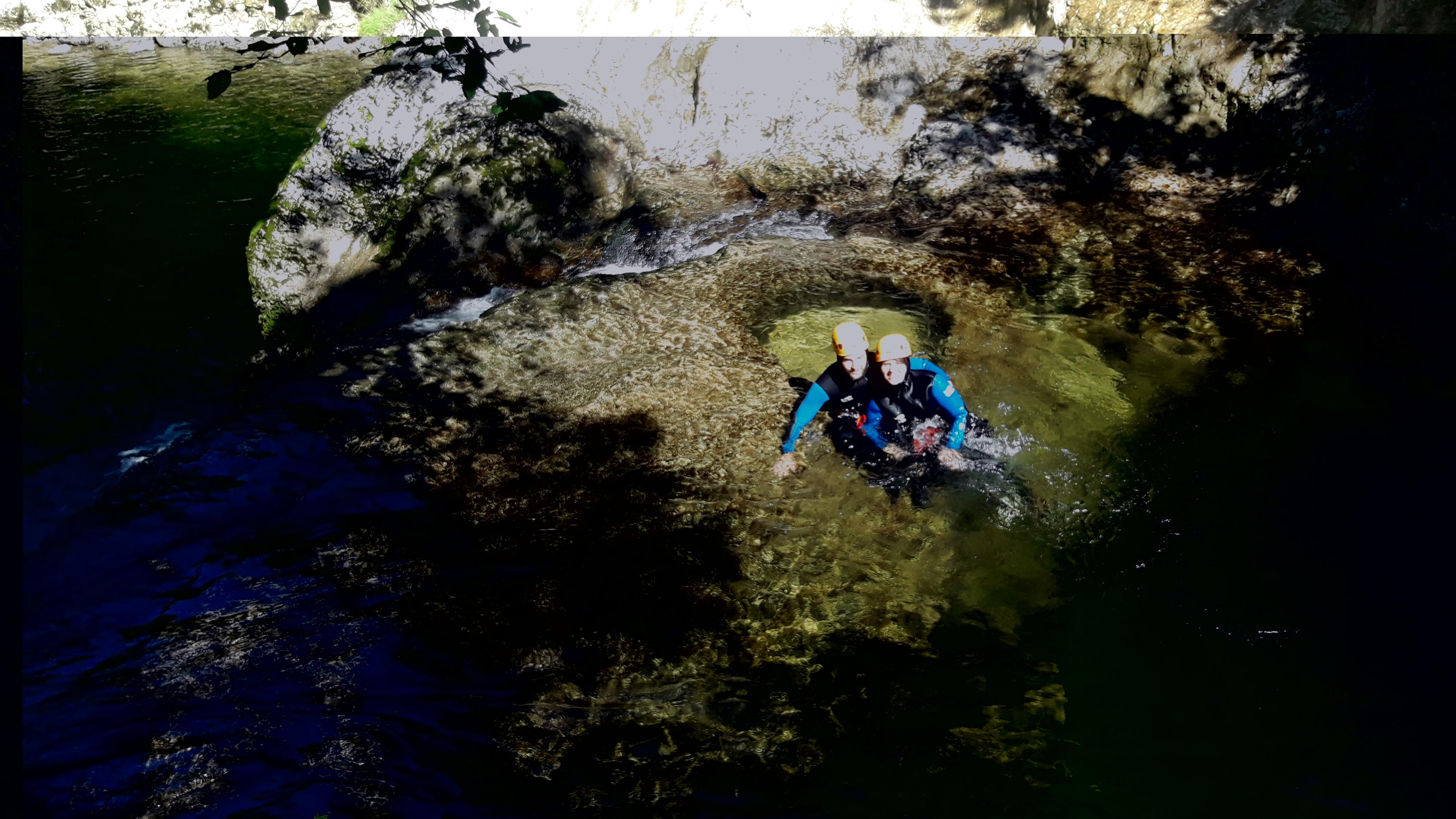 Nord Jura : Canyoning dans les Gorges de la Saine