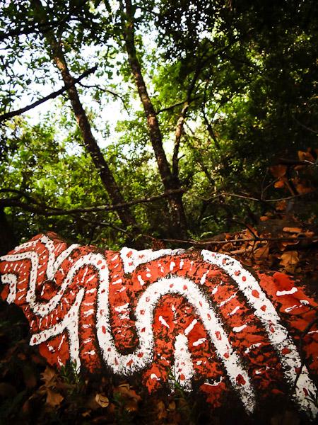 Land'Art : atelier de peinture dans la nature