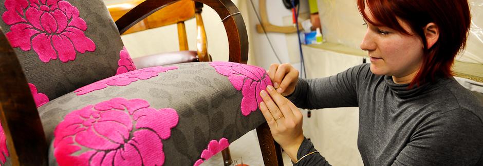 Cours particulier de tapisserie d'ameublement dans les Alpilles
