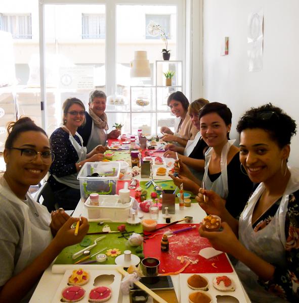 Atelier décoration de cupcake à Lyon