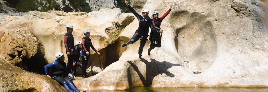Découverte du Canyoning dans les Pyrénées Catalanes