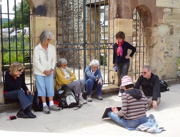 Atelier de carnet de voyage à Toulouse : un regard personnel