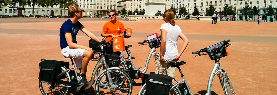 Visite guidée de Lyon à vélo électrique - 3h