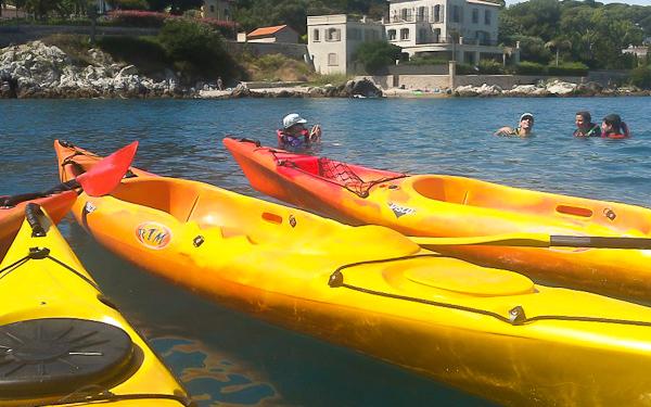Sortie kayak à la découverte de la rade de Villefranche