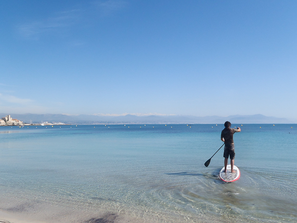 Découverte et initiation au stand-up paddle à Nice