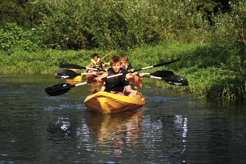 Randonnée en kayak entre lac et rivière dans le Var