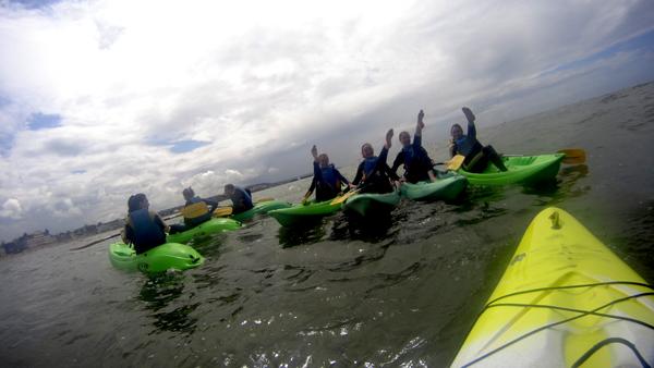 Découverte ludique du Canoë Kayak à Trouville!