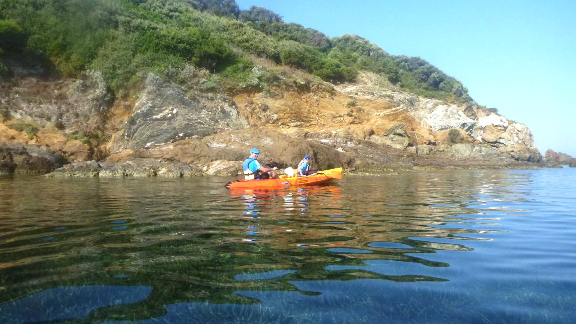 Balade en Kayak à la découverte de la presqu'île de Giens