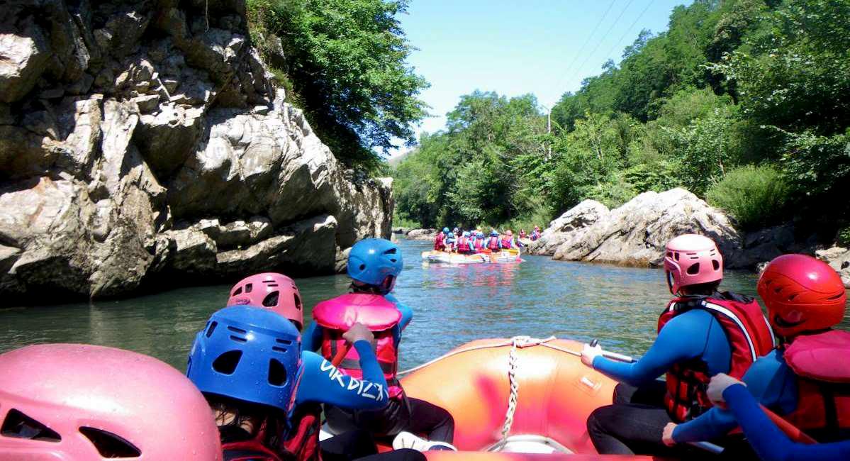 Descente en Rafting sur la Nive, au cœur du pays Basque