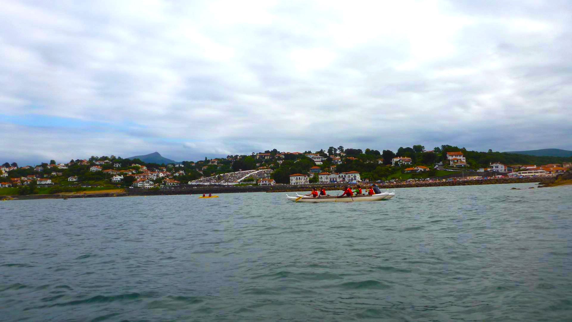 Sortie en pirogue  et kayak  dans la baie d'Hyères