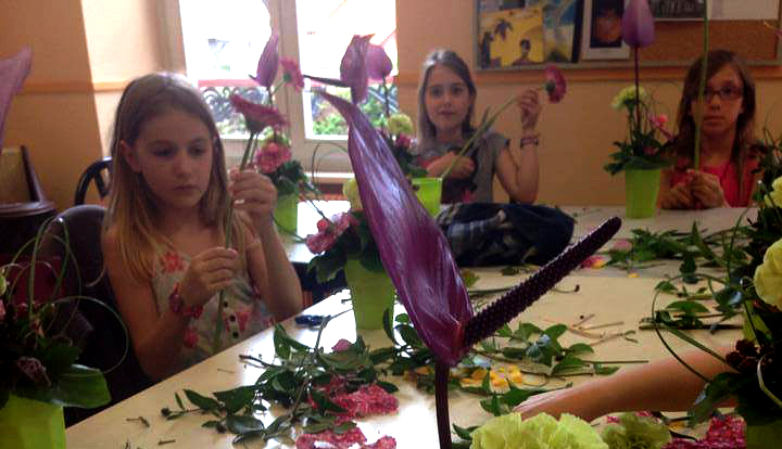 Atelier de création florale pour tous aux portes des Vosges