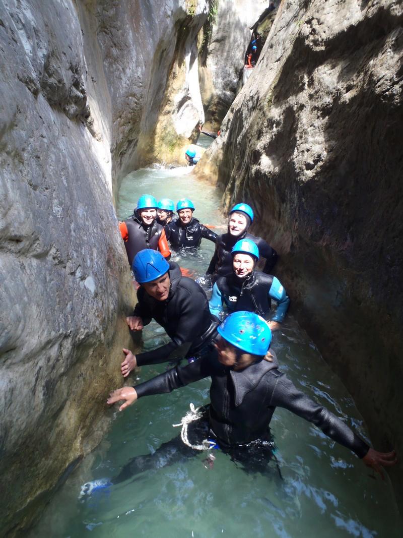 A la découverte du canyoning de la Maglia près de Nice
