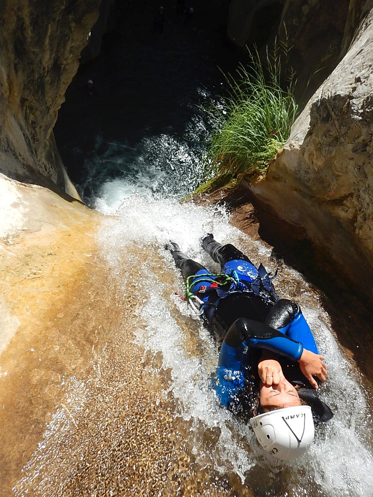 Demi-journée canyoning dans le canyon de La Maglia