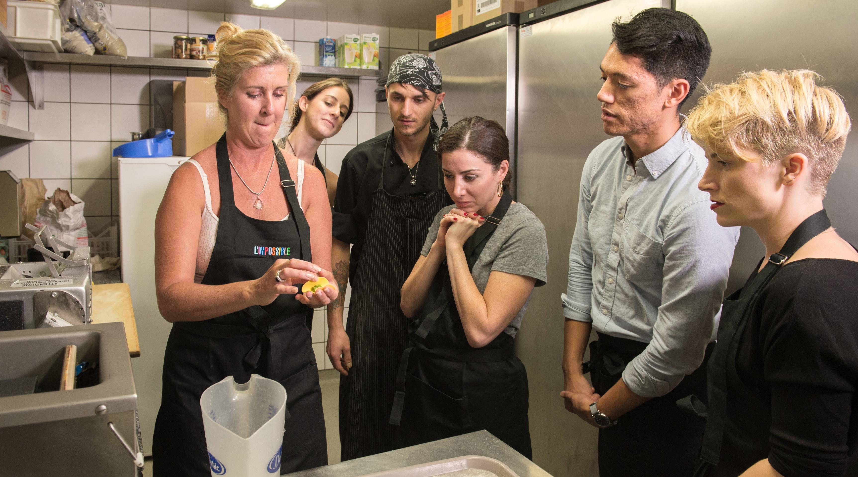 Cours convivial de cuisine italienne à base de produits bio