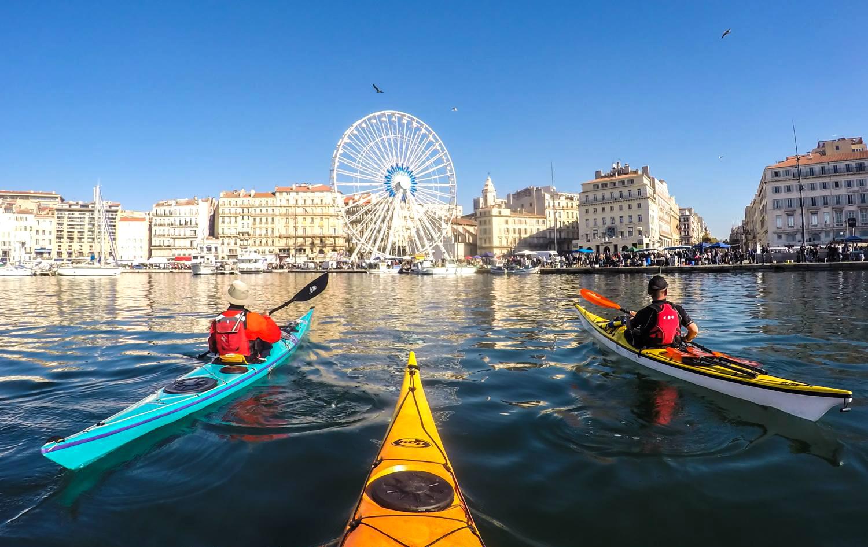Journée guidée en Kayak à la découverte des calanques