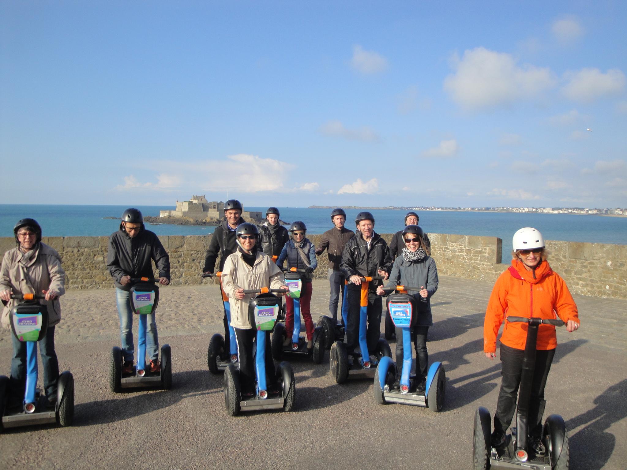 À la découverte de la cité historique de Saint-Malo en gyropode segway !