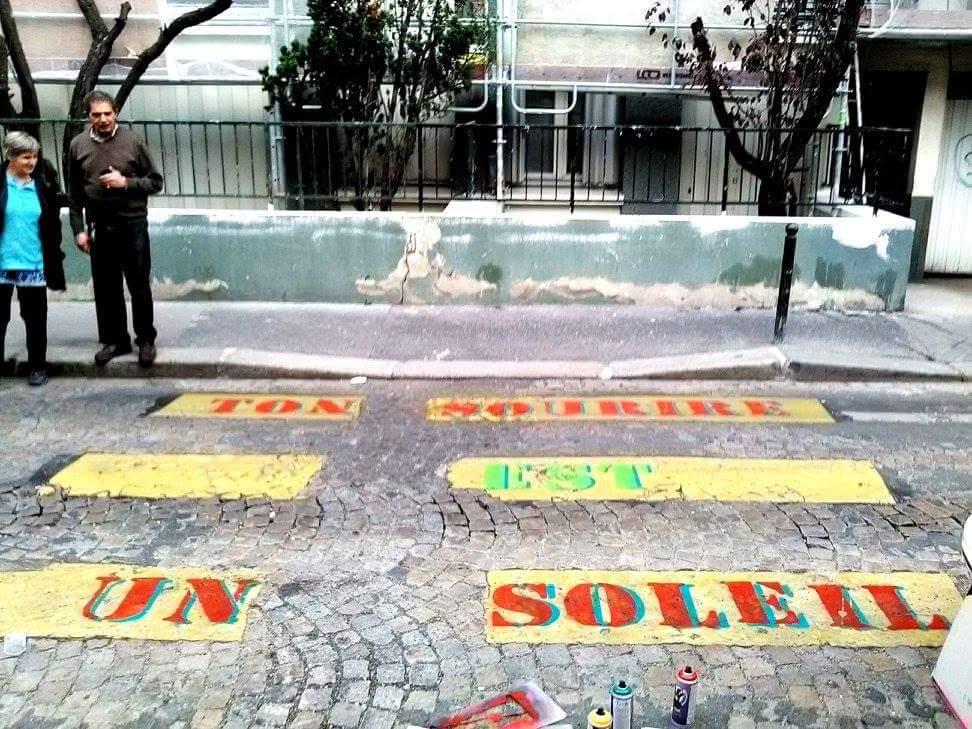Tel un grapheur parisien, exprimez-vous en mode Street Art