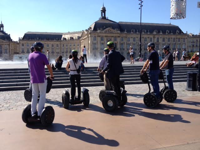 Balade express à la découverte de Bordeaux en Segway