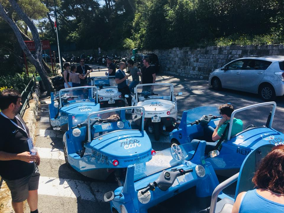 Visite de Nice à Saint Jean Cap Ferrat en voiture originale