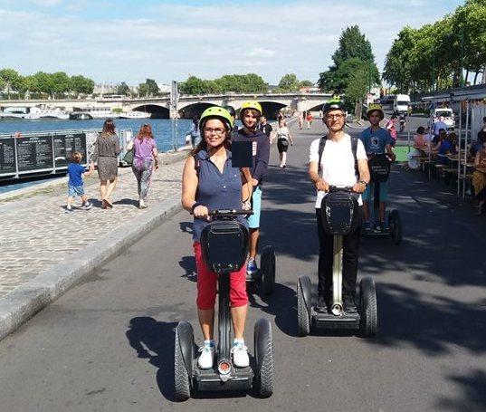 Une visite insolite de Paris à gyropode Segway !
