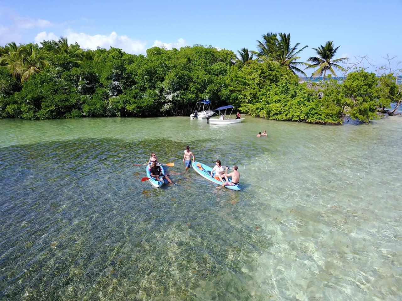 Randonnée Kayak en Guadeloupe !