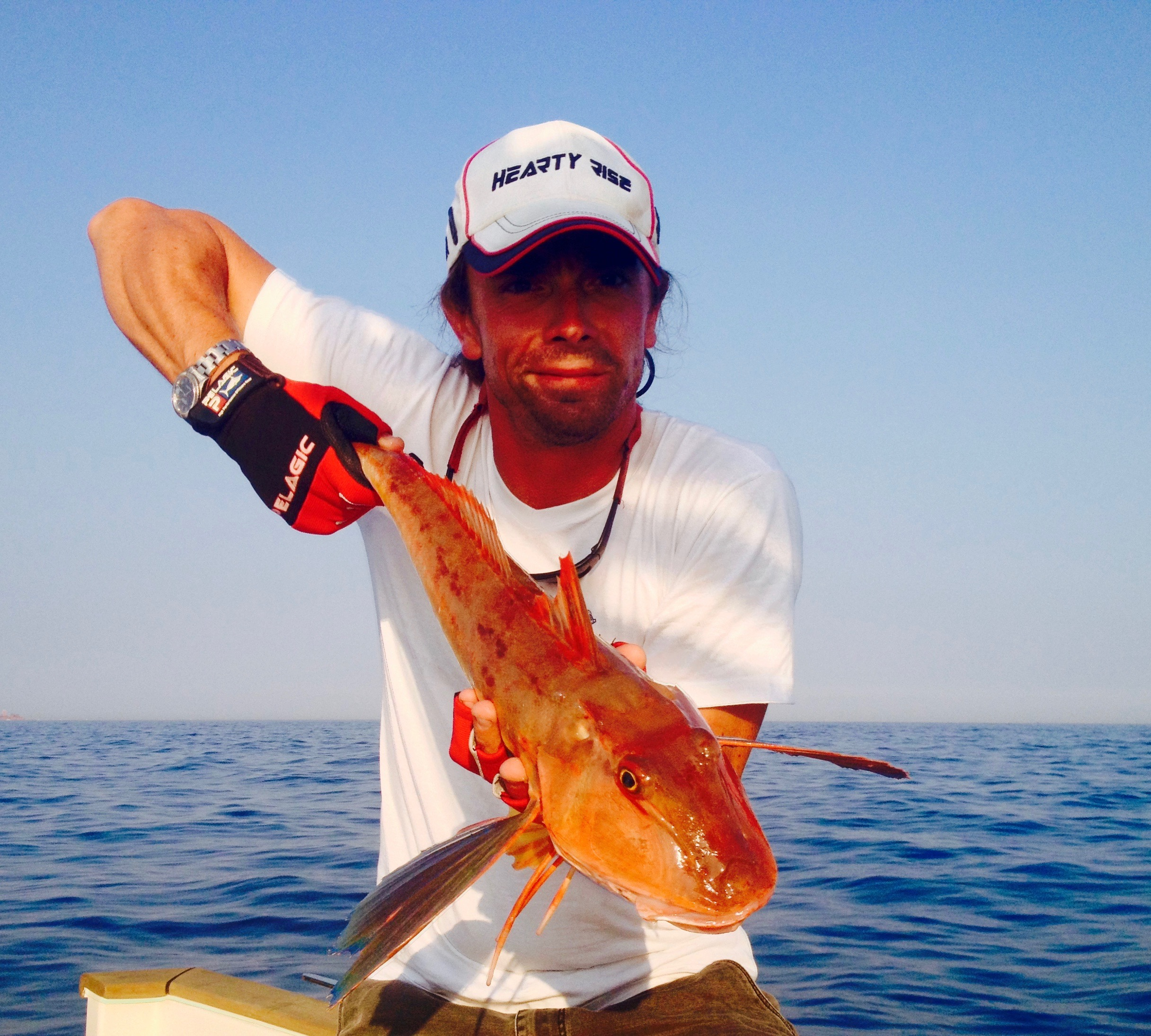 Initiation et perfectionnement à la pêche en mer