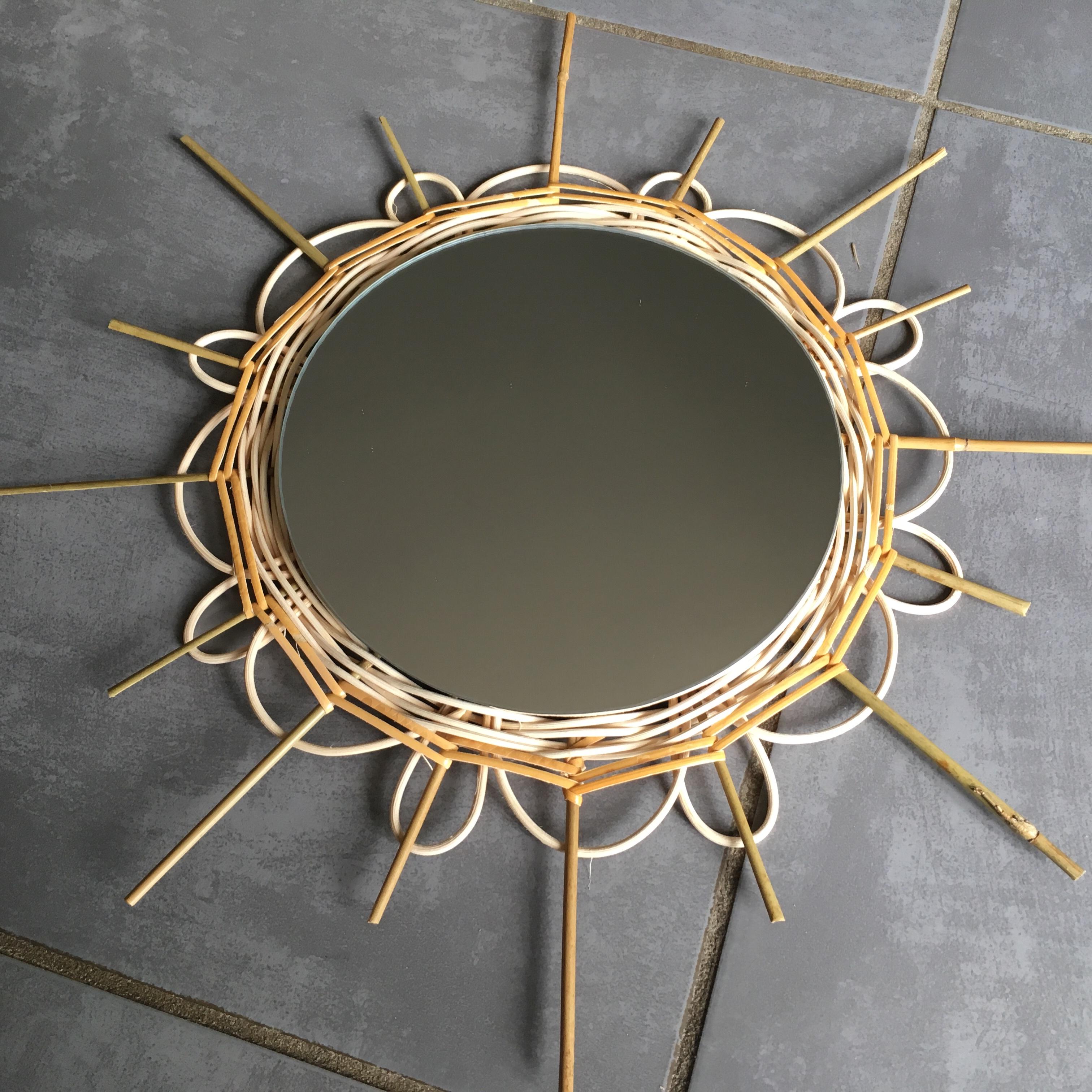 Stage découverte de la Vannerie : le miroir en rotin