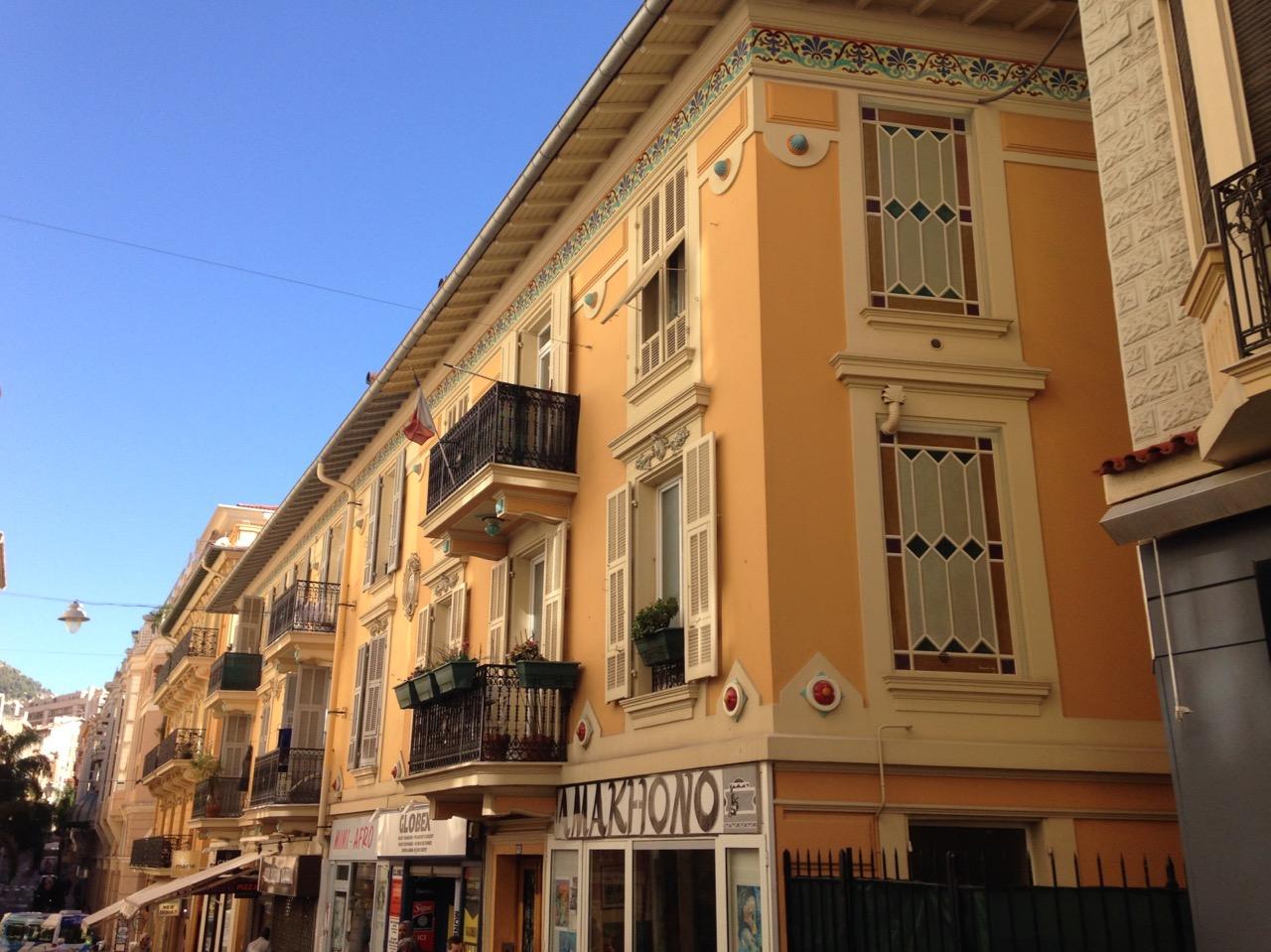Beausoleil, la  journée, repas itinérant, villa Juturne, le Riviera Palace, ville frontalière Monaco