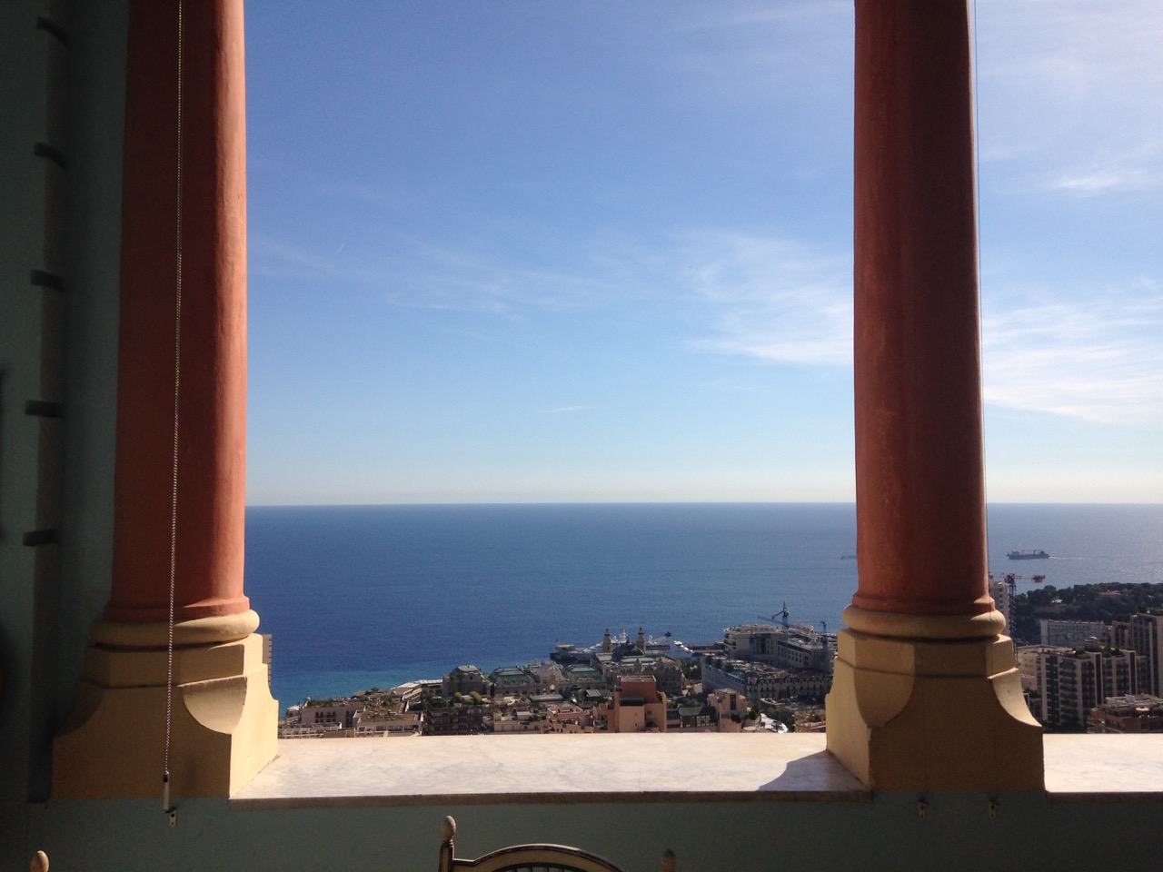 Beausoleil, l'après midi (ville frontalière Monaco) Riviera Palace, Colette