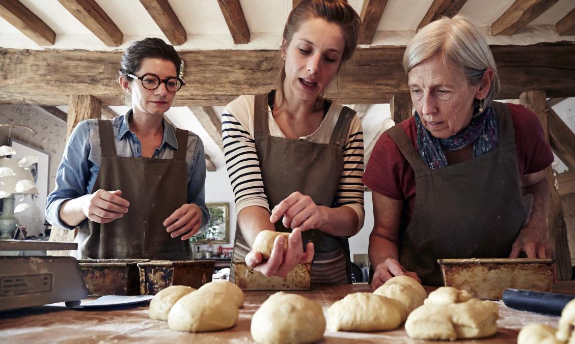Atelier de fabrication de pain au levain près de Blois