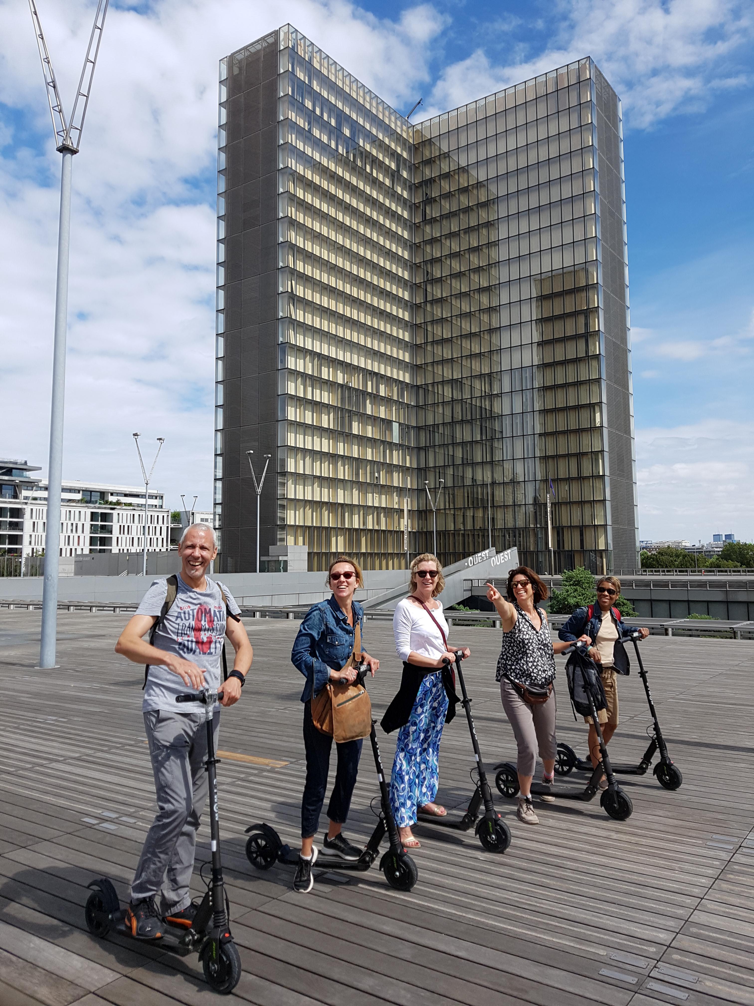 La Campagne à Paris en trottinette électrique