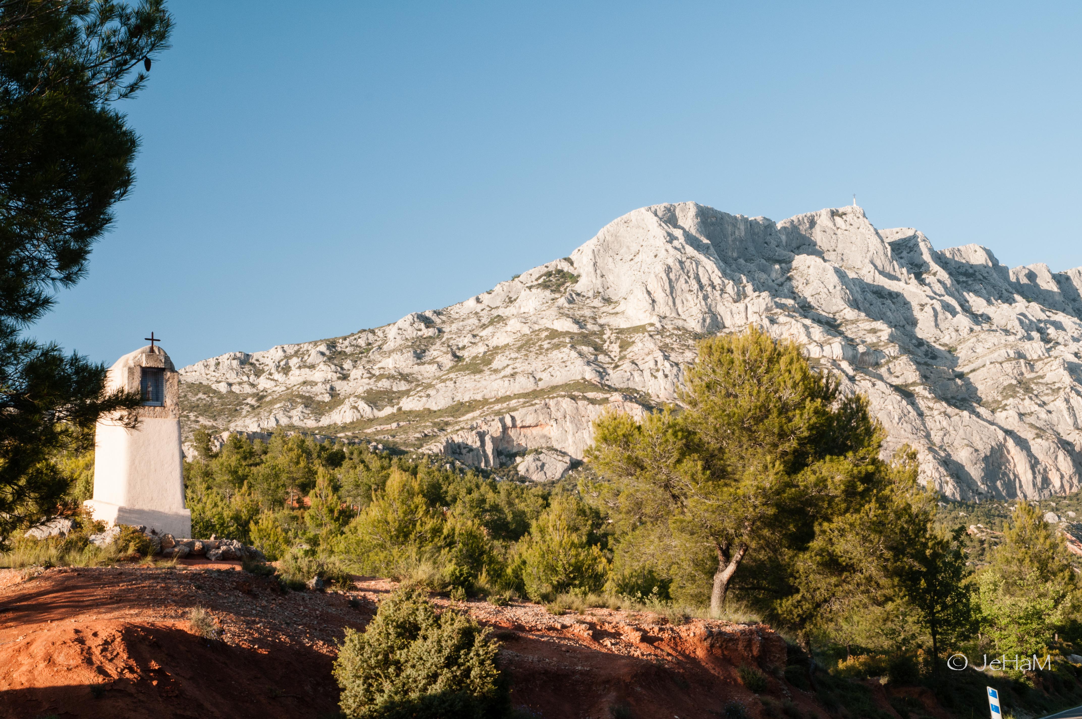 Randonnée à la Sainte-Victoire, la Croix de Provence