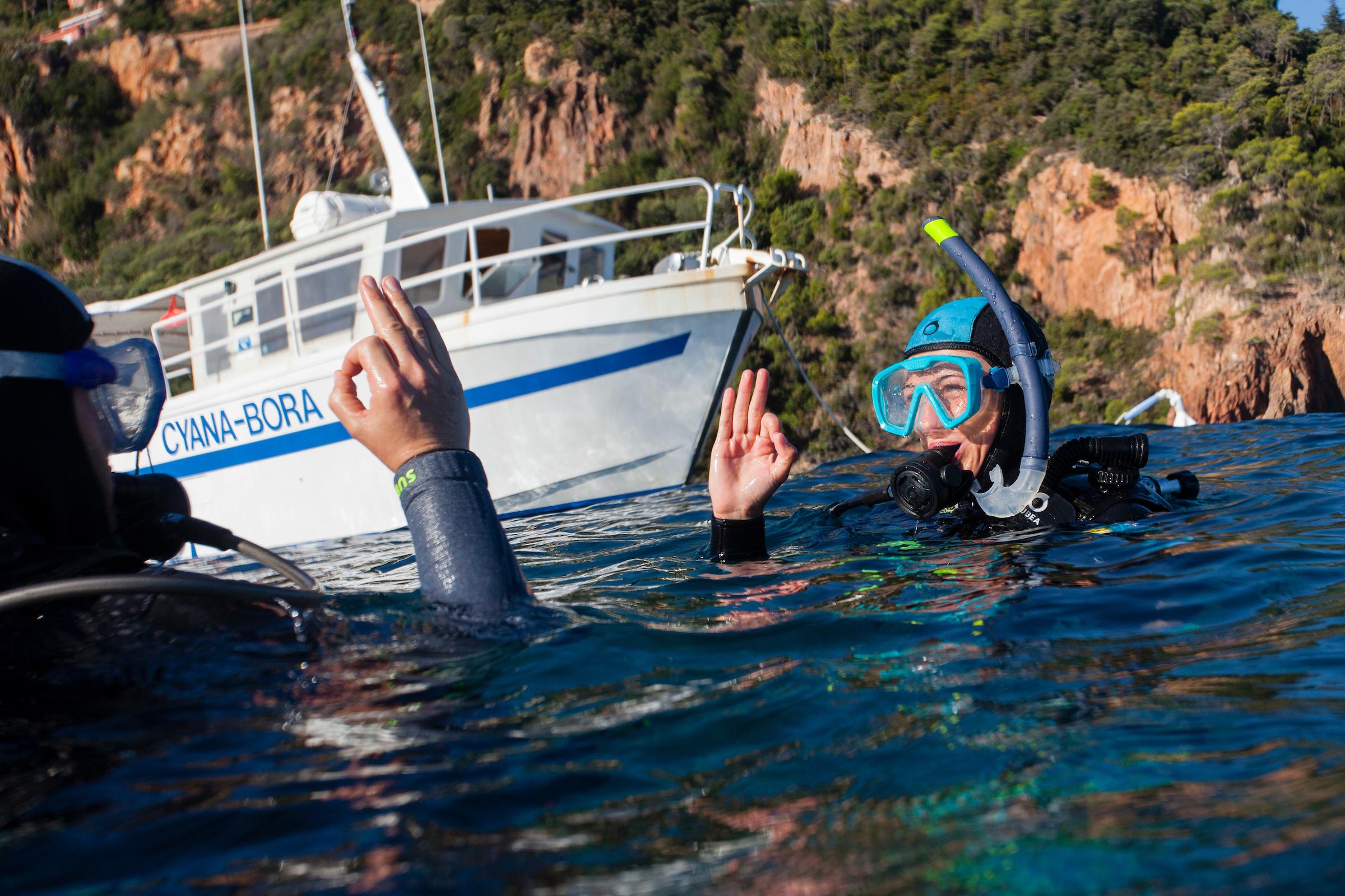 Journée découverte aquatique dans l'Esterel et la Réserve du Cap Roux !