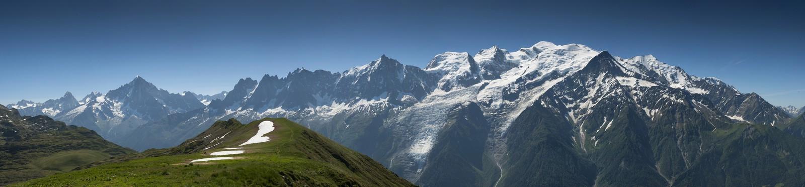 Randonnée à la découverte du glacier des Bossons