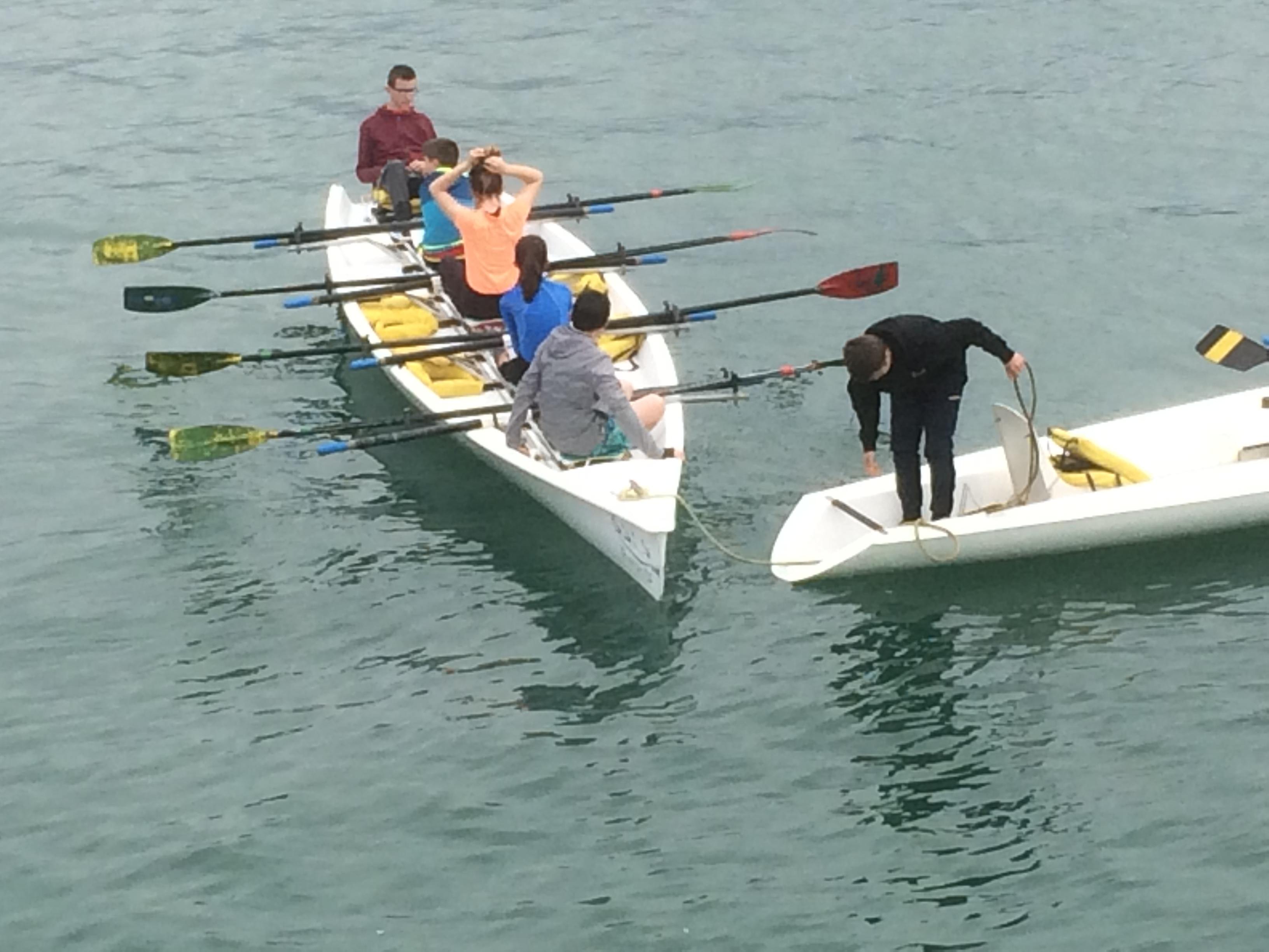 Faire de l'aviron de mer à Concarneau en Bretagne