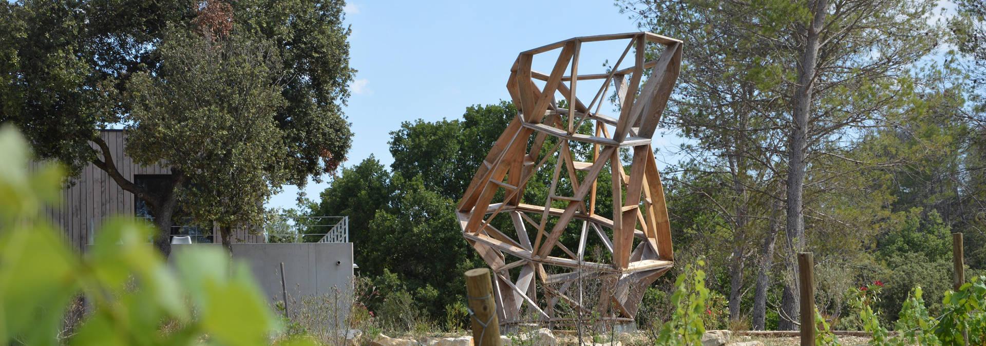 Dégustation et visite culturelle du domaine, entre art et architecture