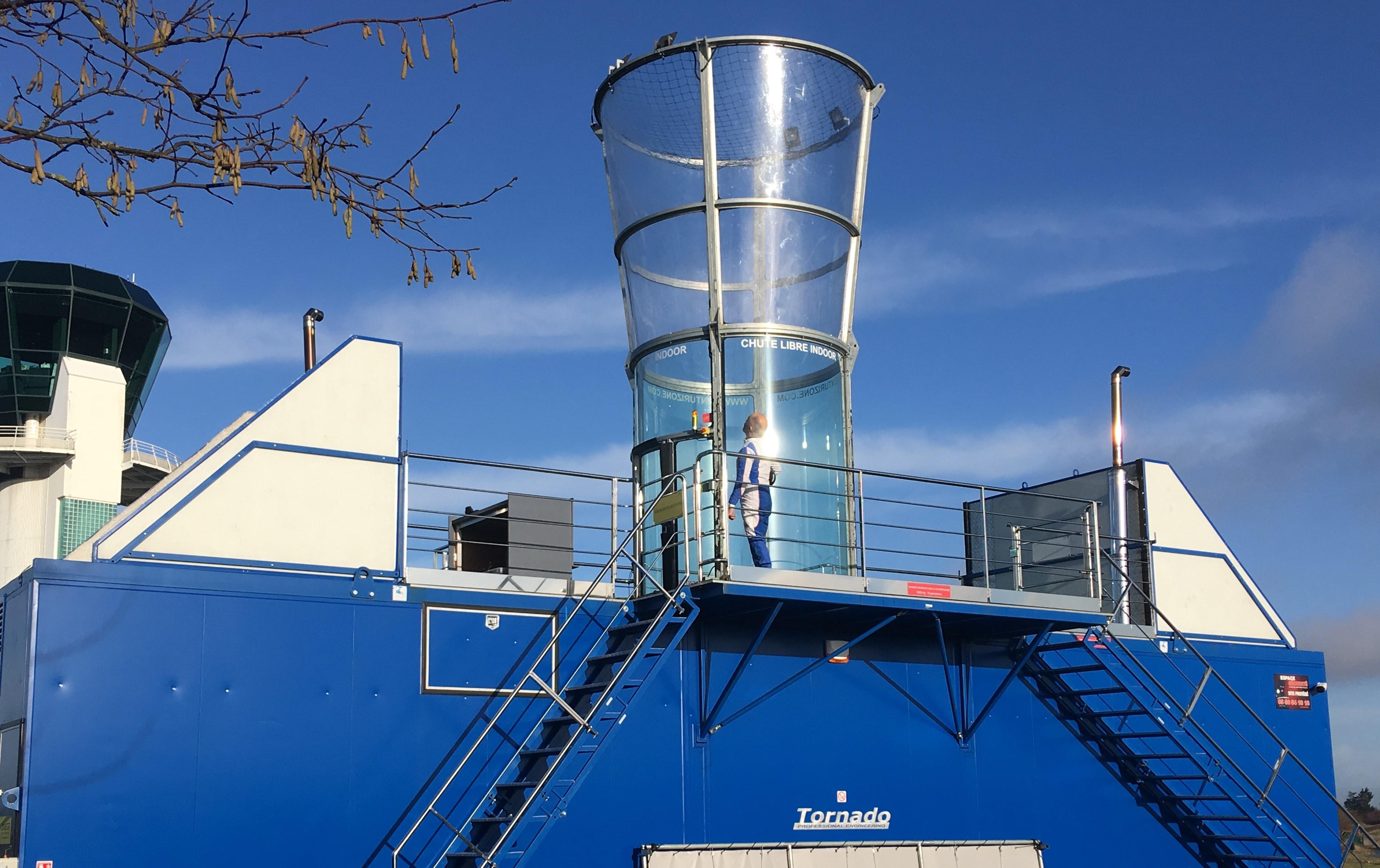 Simulateur de chute libre au Havre